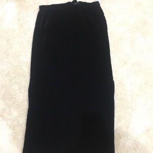 Talbot Velvet Skirt